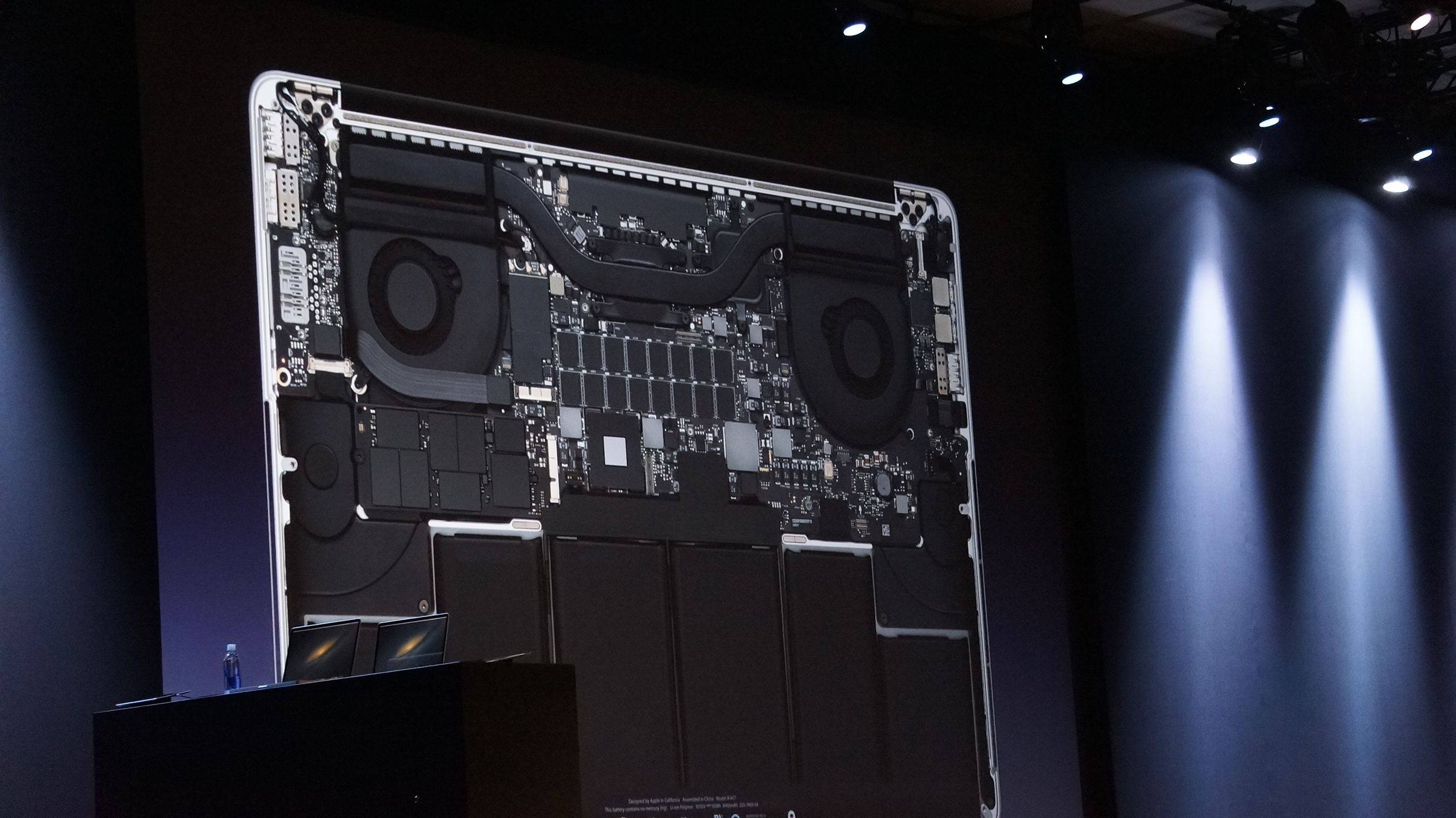 Apple WWDC 2012 MacBook Pro Retina Display motherboard 2