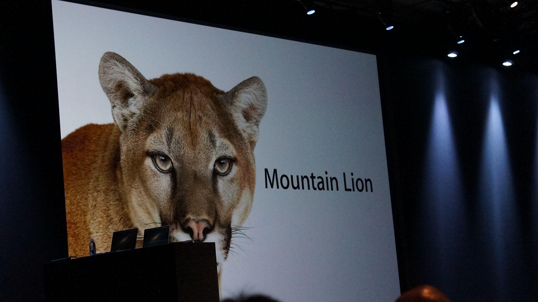 Apple WWDC 2012 Mac OS X Mountain Lion
