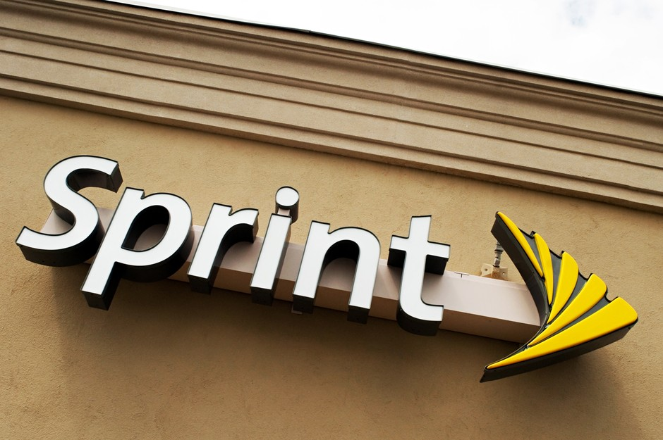 Sprint logo sign