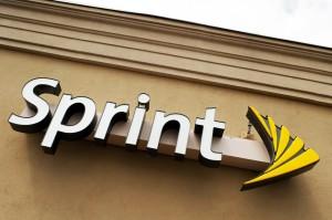 Sprint logo sign
