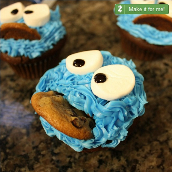 Zaarly Cupcake w Button 2