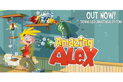 amazing alex by Rovio