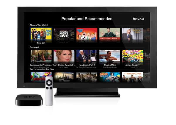 AppleTV Hulu plus