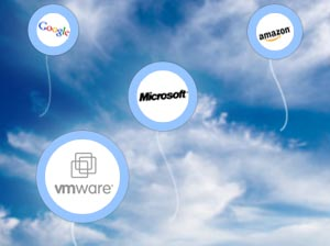 Google, VMware, Microsoft, and Amazon cloud