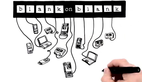 """Blank on Blank successfully raised more than $11,000 on Kickstarter. But getting there wasn't easy: """"It's a long 30 days,"""" said the show's producer David Gerlach."""