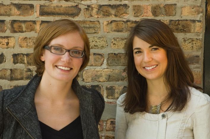 Jessica Lybeck and Erin Hopmann