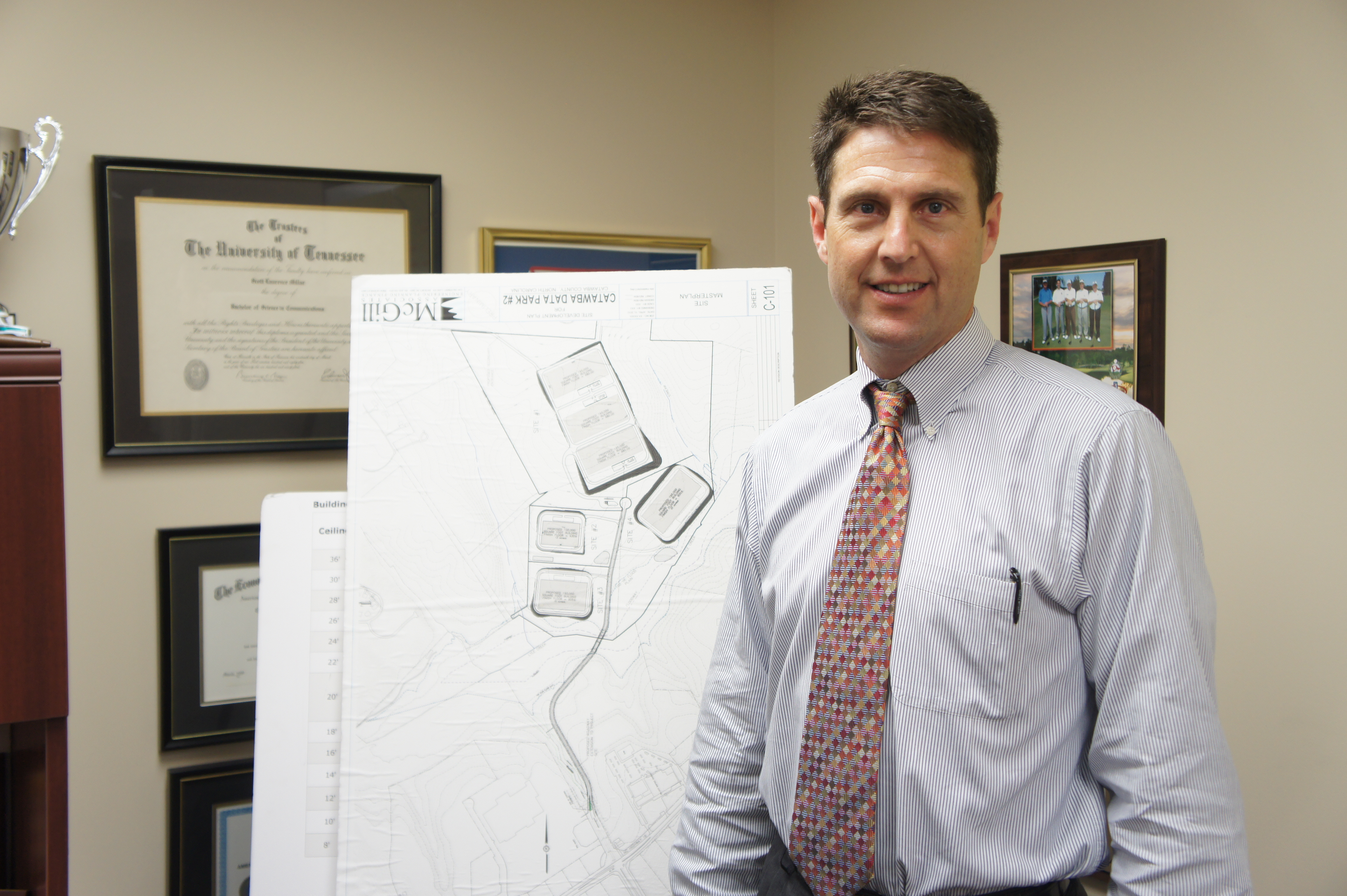 Scott Millar, President of the Catawba County Economic Development Group