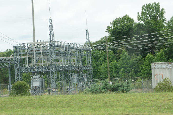 Around the Apple data center, substations are needed. Data centers consume a lot of power.