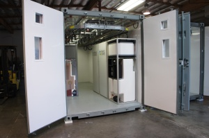 14 flow batteries fit in a shipping container