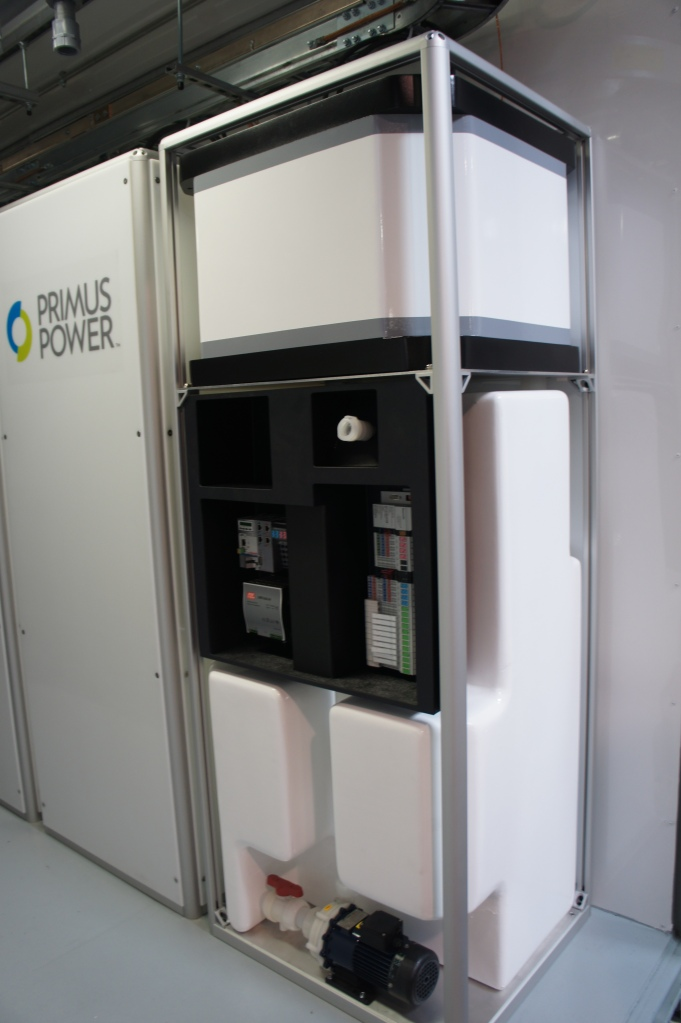 Primus Power's flow battery