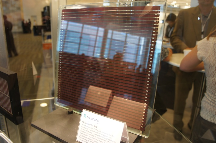 Solar PV shade made by the Fraunhofer researchers