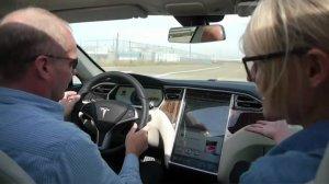 Green Overdrive: We ride a Tesla Model S Beta! thumbnail