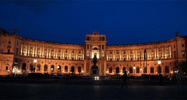 hofburg palace, Vienna, used under Creative Commons license courtesy of Nagesh Kamath