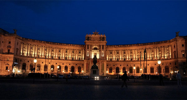 hofburg palace, Vienna, used under Creative Commons license courtesy of Nagesh Kamath
