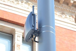 A Ruckus Wireless Wi-Fi access point similar to those used in TWC's network (source: Ruckus)