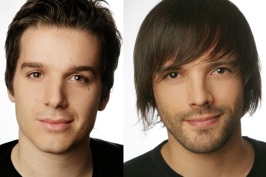 Musicplayr founders Stefan Vosskötter and Thorsten Lüttger