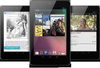 A trio of Nexus 7 tablets