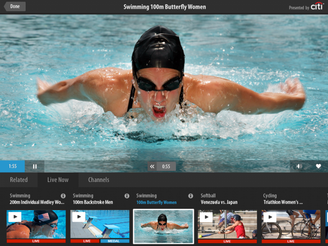olympics nbc app