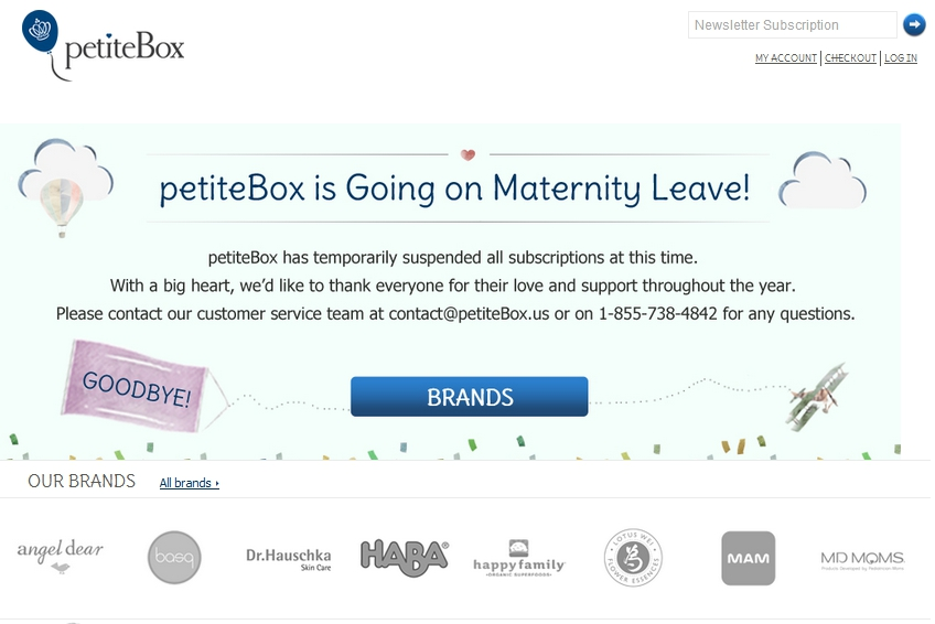 Petitebox maternity leave