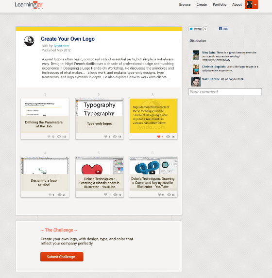 LearningJar screenshot