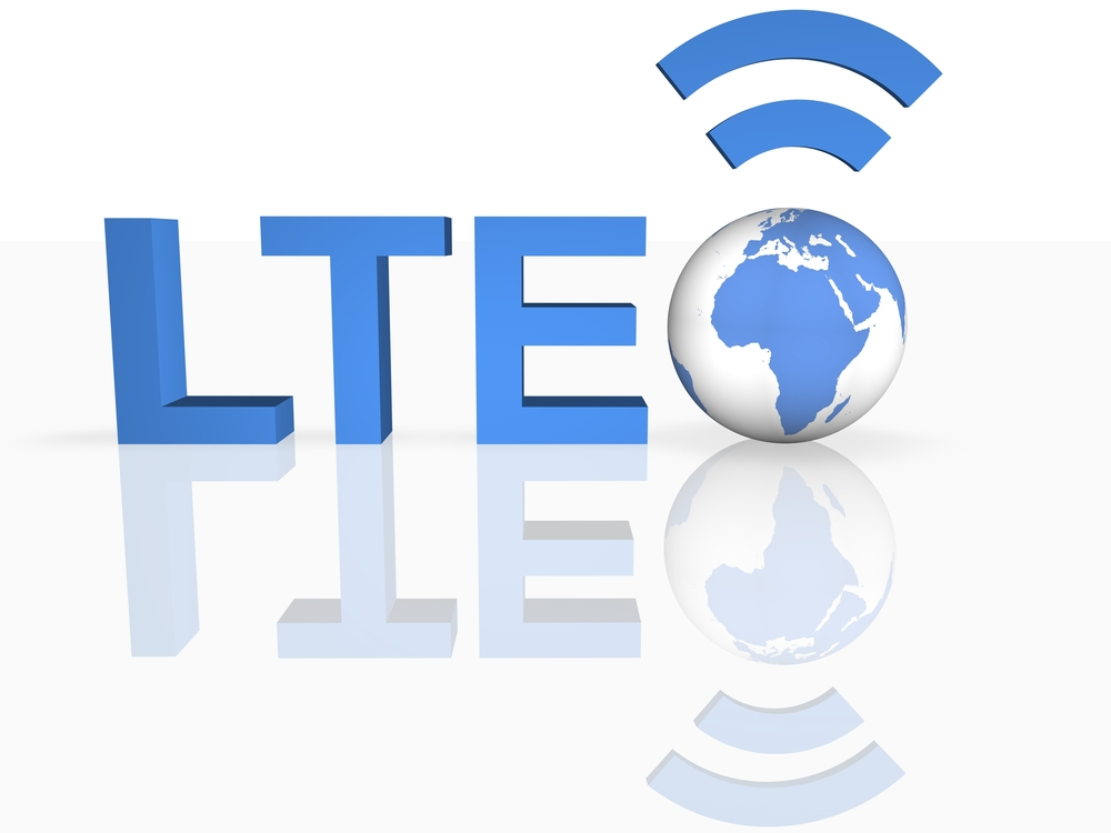 LTE graphic logo