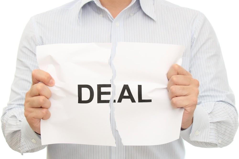 No deal broken deal