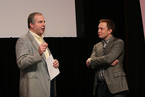 Matt Desch and Elon Musk