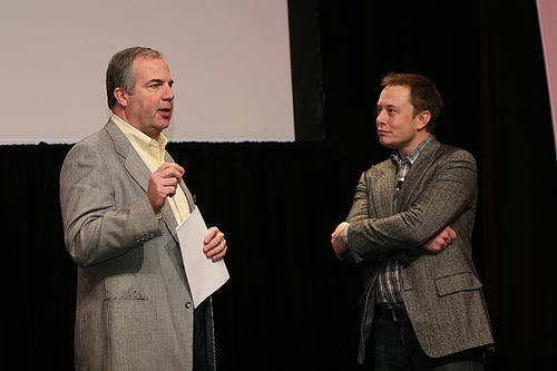 Matt Desch and Elon Musk