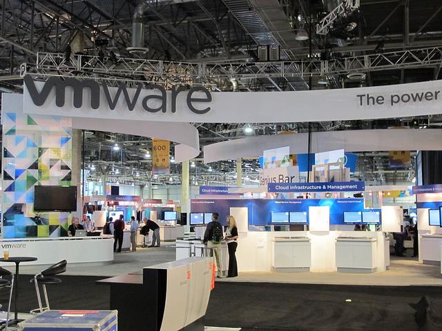 VMworld 2011 show floor