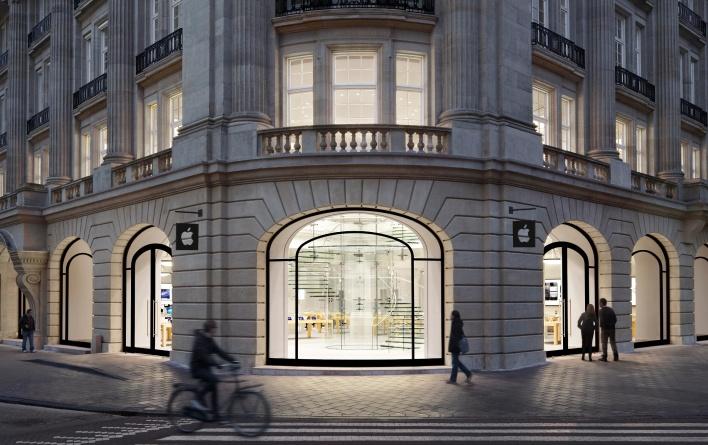 Apple Amsterdam store copy