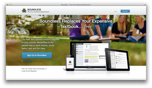 Boundless-Homepage
