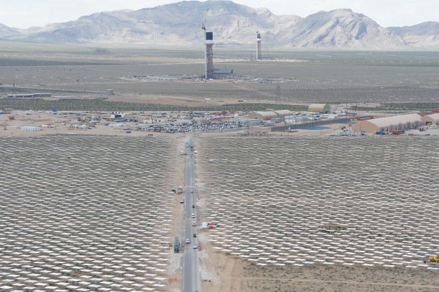 Huge Solar Thermal Farm Near Vegas Delivers First Energy