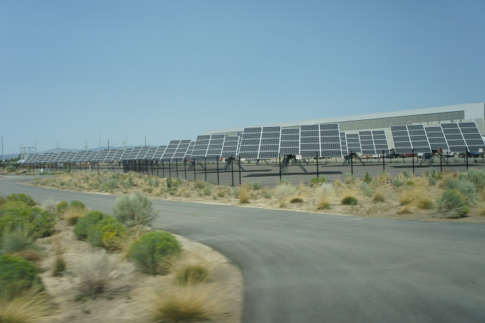 Facebook solar project in Oregon