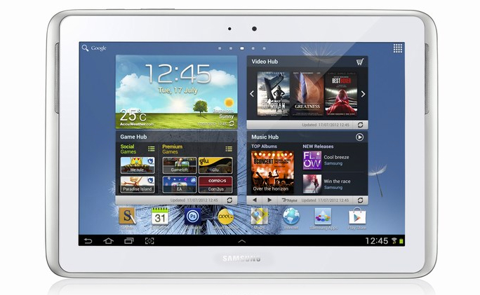 Samsung's Galaxy Note 10.1