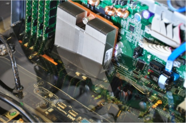 Intel motherboard oil