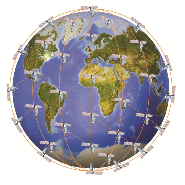 The Iridium Next satellite constellation