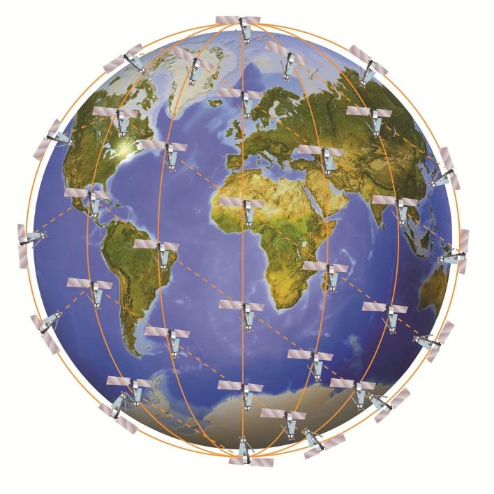 The Iridium Next satellite constellation