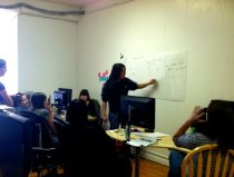 Hackbright Academy lady coders learning