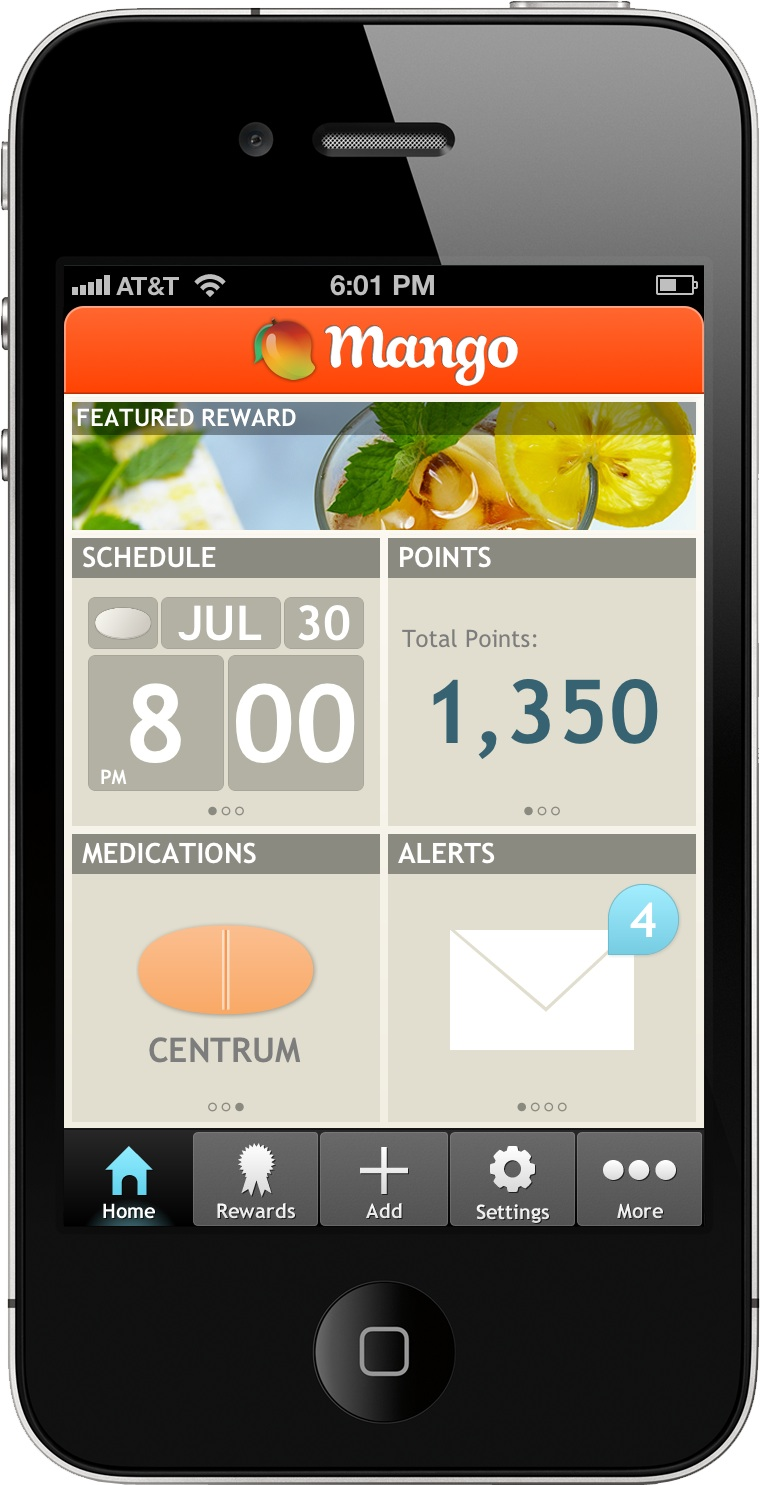 Mango_Health_Homescreen