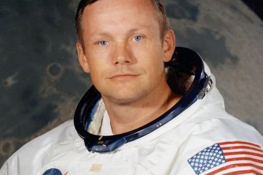 Neil Armstrong headshot, as NASA astronaut