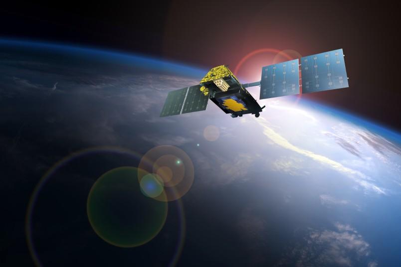 An Iridium Next satellite