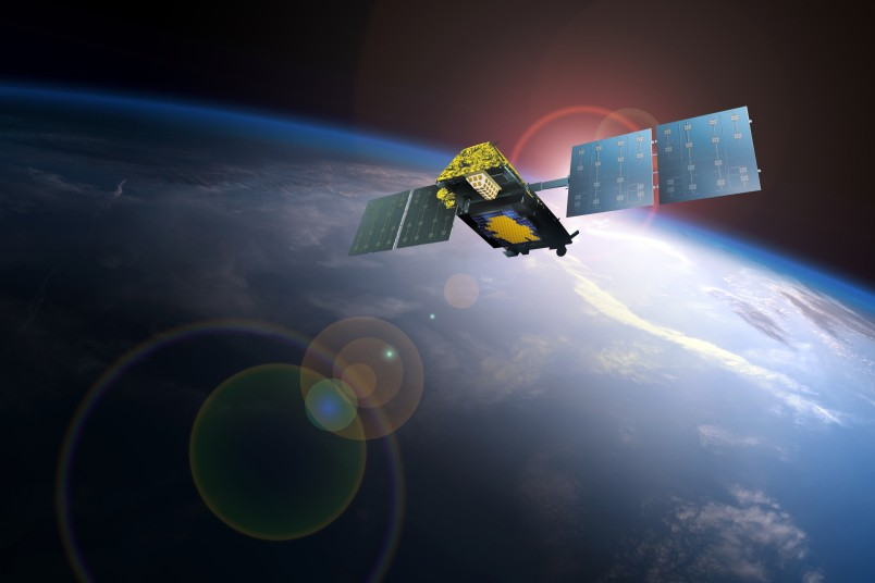 An Iridium Next satellite