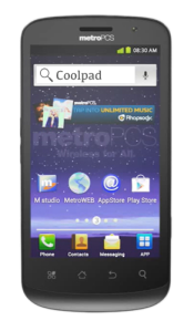 Quattro-front Yulong Coolpad
