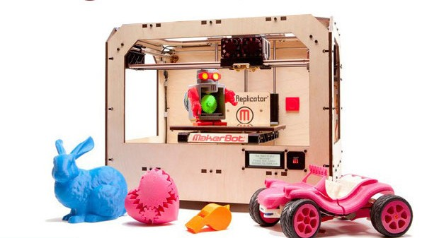 Replicator 3-D printer from MakerBot
