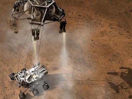 NASA's Rover Curiosity lands on Mars