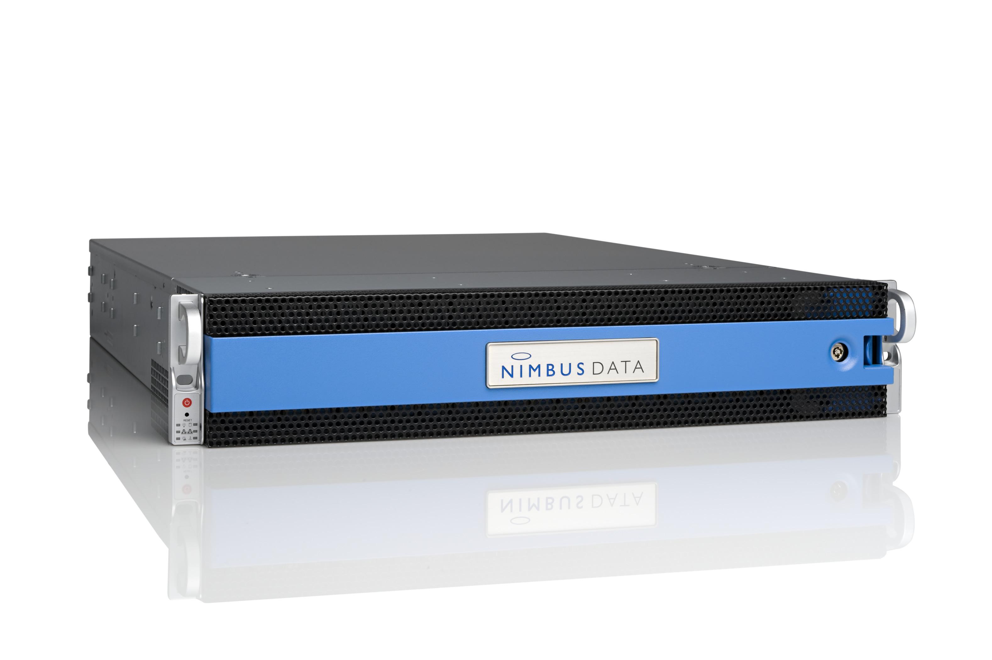 Nimbus Data Gemini flash storage