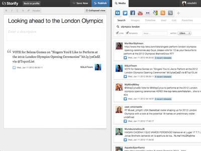 Storify London Olympics