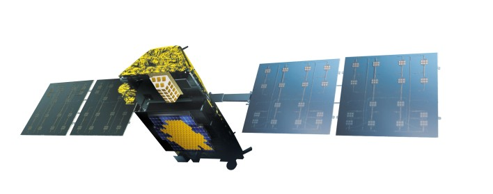 thales Iridium Next satellite