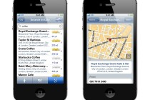 TomTom search with Foursquare, Facebook and Google