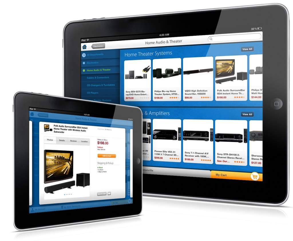Walmart iPad app